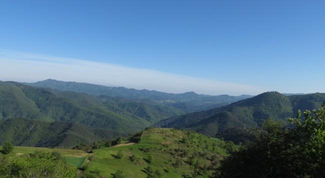 изглед от Родопите